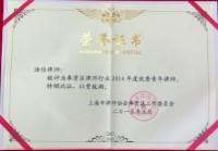 奉贤区优秀青年律师(2014年)